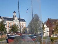 Hermine im Zentrum Cuxhavens