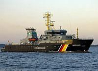 Küstenwachboot Seefalke