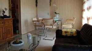 Essplatz der Ferienwohnung für 4 Personen