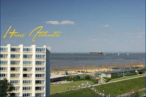 Seesicht Ferienwohnungen im Haus Atlantic