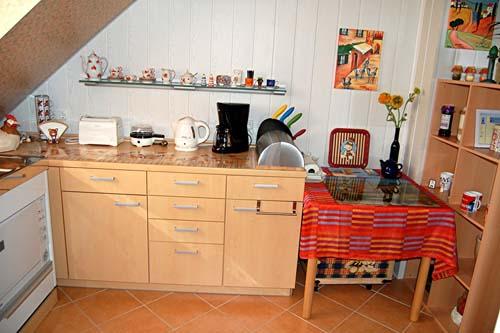 die Küche der Fewo