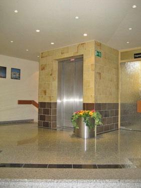 Lobby im Haus Atlantic