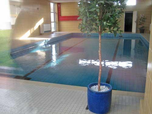 Schwimmbad im Haus Atlantic