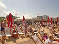 Strandbar in Döse