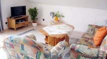 Wohnzimmer der Ferienwohnung Eggers in Cuxhaven Lüdingworth