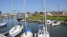 Ferienwohnung mit Blick über die Marina Cuxhaven