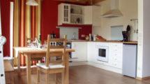 offene Wohnküche im Ferienhaus